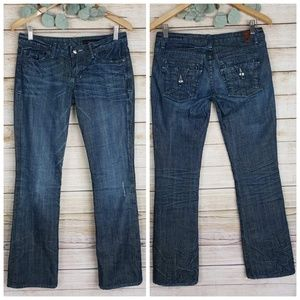 Peoples Liberation Boot Cut Blue Jeans